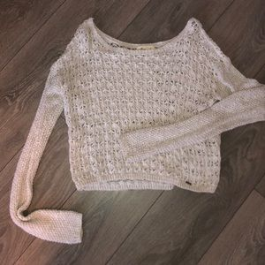 Cropped sparkly knit ✨